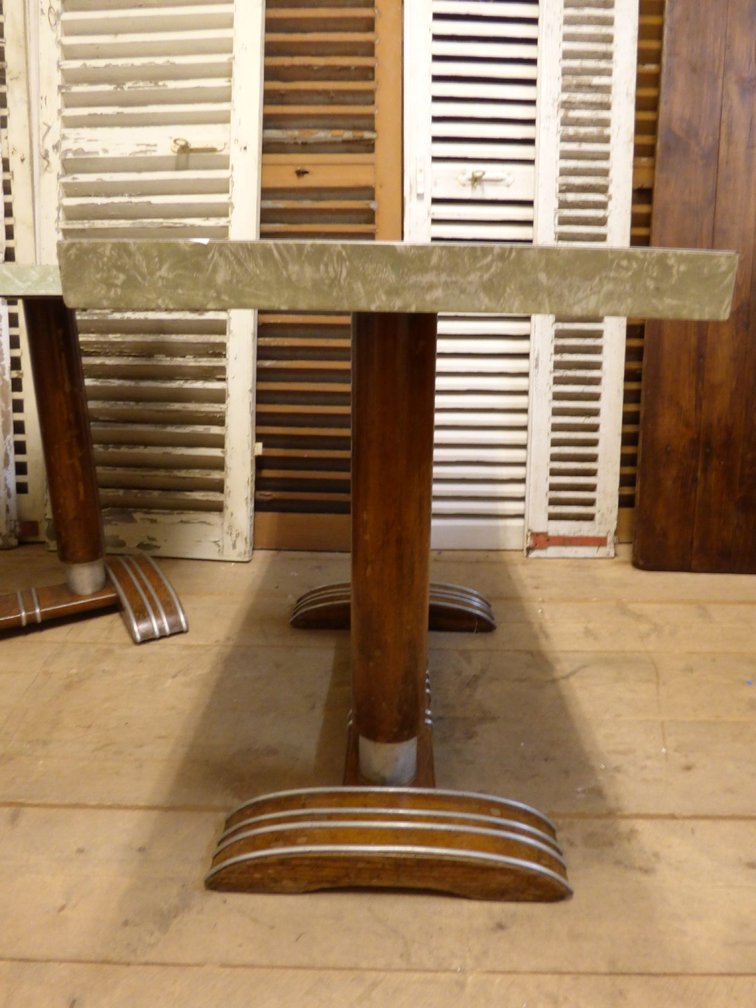 ... Original French Bistro / Cafe Tables   £175 Each